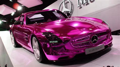 pink mercedes truck the barbie doll drives a pink mercedes mercedesblog