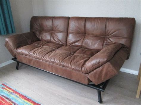 Leather Sofa Bed by Faux Leather Sofa Bed In Lancaster Lancashire