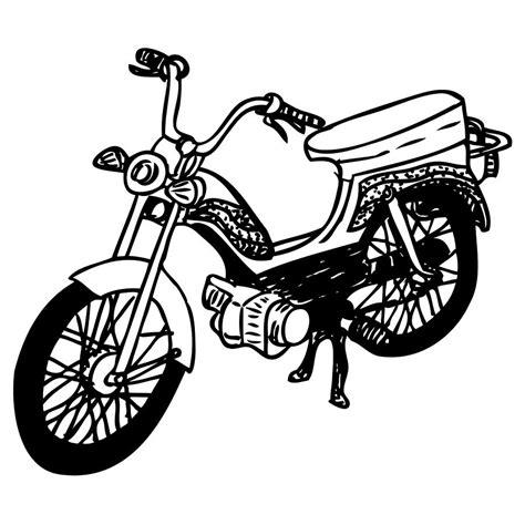 moped drawing  karl addison