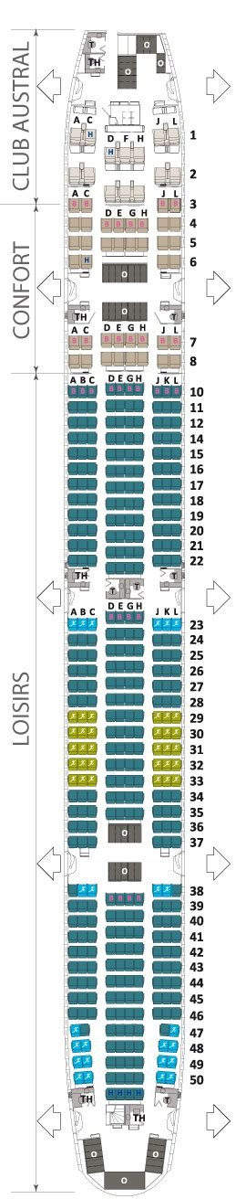 boeing 777 300 er air austral plan cabine visite en
