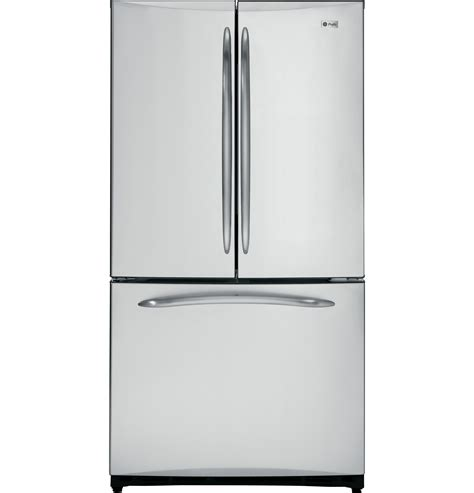 ge profile series  cu ft counter depth french door refrigerator  icemaker