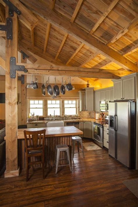 barn home kitchen functional layout www