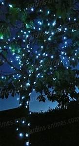Guirlande Lumineuse Jardin : guirlande lumineuse solaire 50 leds eclairage et fontaine solaire ~ Melissatoandfro.com Idées de Décoration