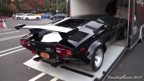 unloading lamborghini countach lp  youtube