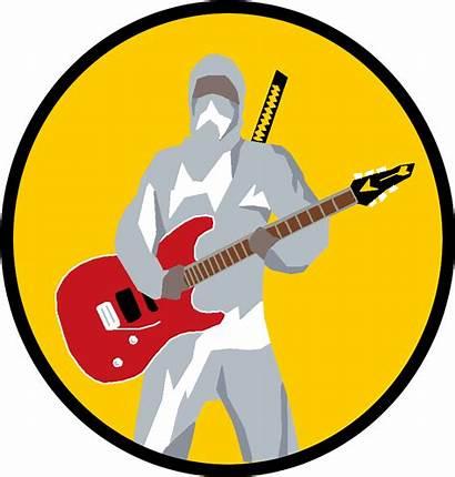 Transparent Rockstar Clipart Ninja Clip Pinclipart Rock