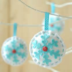 make sew christmas bauble decorations kit by kitty kay make sew notonthehighstreet com