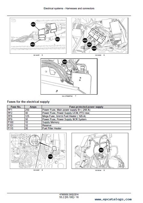 holland  series tractors service manual
