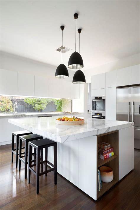 kitchen design idea white modern  minimalist