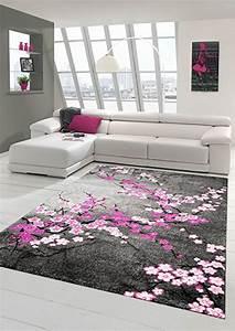 Tapis Gris Rose : tapis gris et rose 2 id es de d coration int rieure ~ Teatrodelosmanantiales.com Idées de Décoration
