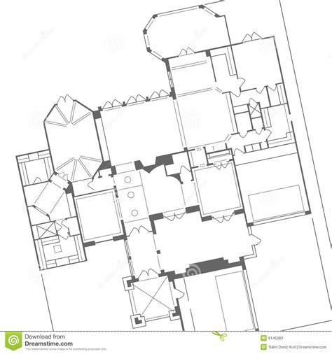 floor plans vector house plan vector stock photos image 6145383