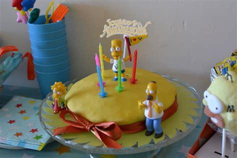 comment cuisiner du cerf 5 bougies avec la famille simpsons les créations du papillon