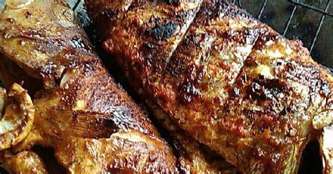 resep ikan bakar laut enak  sederhana cookpad