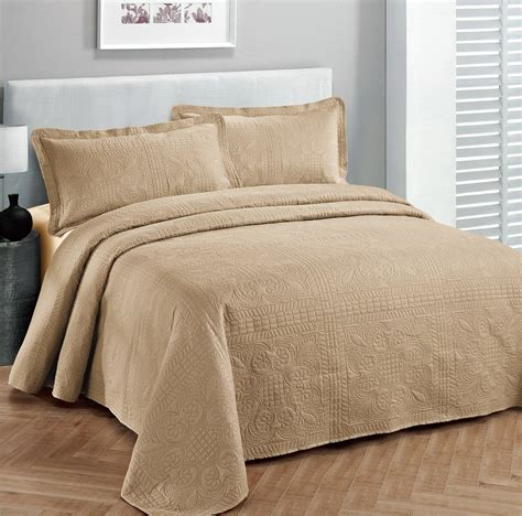 cal king bedspreads california king size chenille bedspreads