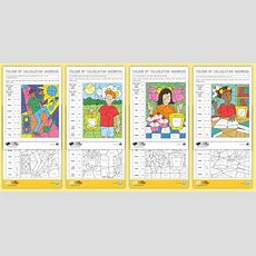 Free!  * New * Ks2 Bbc Children In Need Colour By Calculation Maths