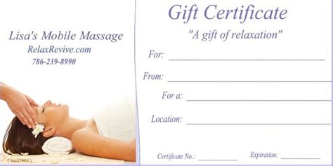 This spa gift certificate template is designed in microsoft® word which makes it easily editable. 1000+ images about massage gift certificates on Pinterest | Facial massage, Mother s day and Massage