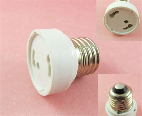 e27 e26 to gu24 socket led halogen cfl light bulb l