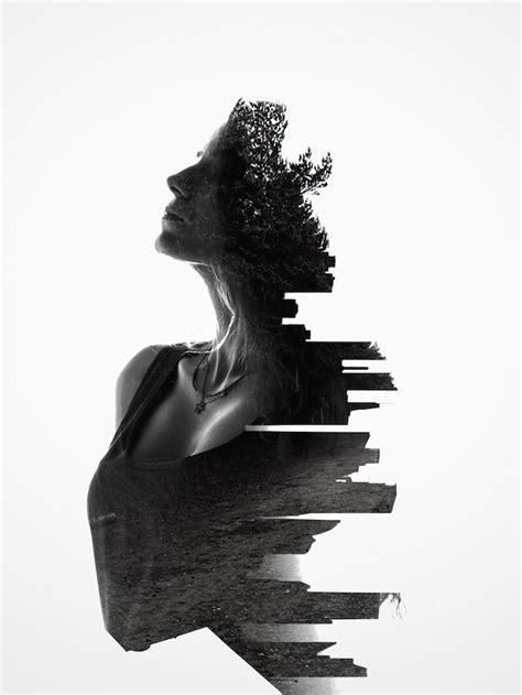 New In My Modern Shop Surreal Double Exposures By Erkin Demir