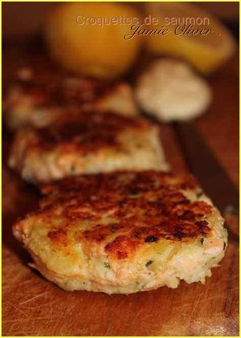 cuisine oliver recettes croquettes de saumon recette de oliver quot mes