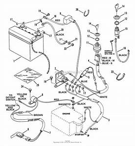 Snapper 250612t 25 U0026quot  6 Hp Rear Engine Rider Series 12 Parts Diagram For Electrical Systems