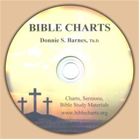 Donnie Barnes Bible Charts welcome to bible charts by donnie s barnes th d new