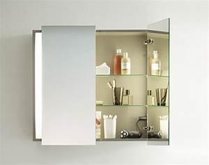 armoire salle de bain avec miroir With salle de bain design avec armoire salle de bain