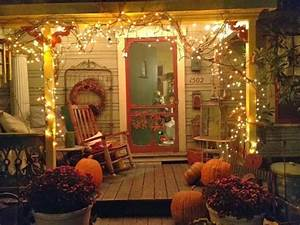 Tabulous Design: 10 Fall Front Porch Ideas