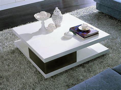 ou trouver canapé pas cher table basse carrée quot moli quot en mdf laqué noir et blanc 56777