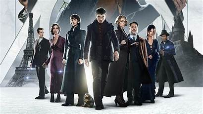 Beasts Fantastic Crimes Grindelwald Poster Cast 4k