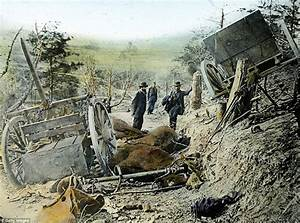 The Civil War In Color Heroic Scenes Brought To Life As