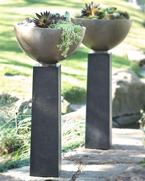 Modern Outdoor Planters by Modern Planter Yard Ideas Outdoor Planters Planters