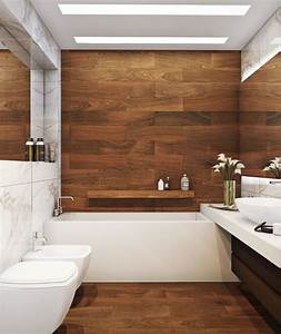 the 25 best wooden bathroom ideas on pinterest toilet With popular materials of white tile bathroom