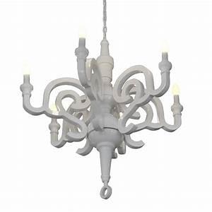 Designer Kronleuchter Modern : gaga lamp design kronleuchter holz weiss glanz 6x40 w e14 ~ Michelbontemps.com Haus und Dekorationen