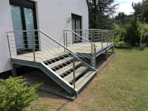 Terrasse Treppe Stahl by Schlosserei Metallbau Wendt Stahl Und Mehr Wendt