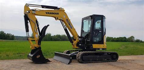 yanmar vio  mini excavator  sale  hours chatham va