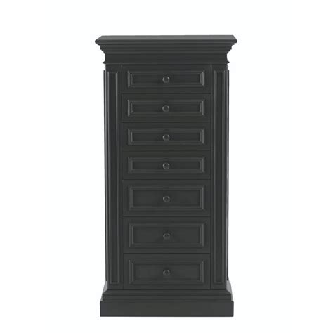 silver gray armoire mirrored jewelry armoire  silver