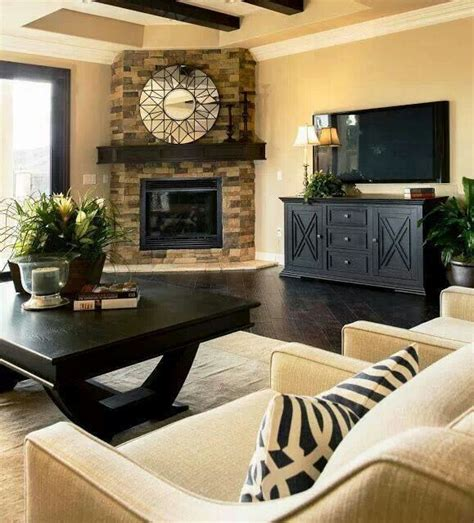 Decorating Ideas Next To Fireplace by Best 25 Corner Fireplace Decorating Ideas On