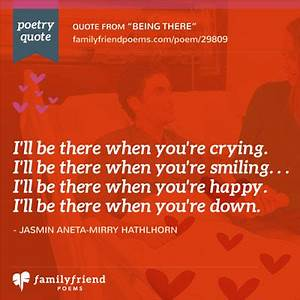 Family Always Being There Quotes. QuotesGram