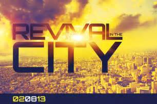 Simple Revival Ideas Photo by Revival In The City Church Flyer Template On Behance