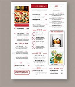simple vintage menu design With simple html menu template