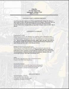 cover letter for laborer position - labourer resume