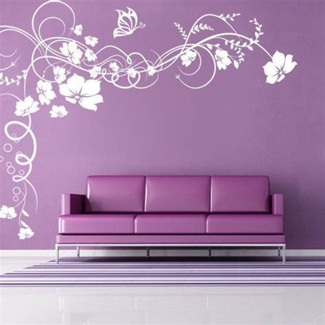 pvc vinyl floral wall sticker rs  piece wall