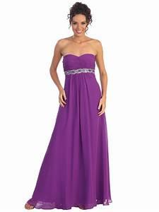 Chiffon Empire Waist Evening Dress Sung Boutique L A