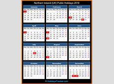 Northern Ireland UK Public Holidays 2018 – UK Holidays
