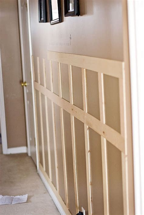 Faux Wainscoting by Faux Wainscoting This Is The One We Want Tutorials