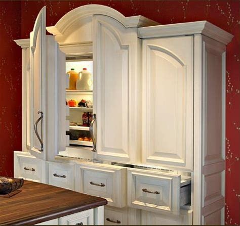 hidden refrigerator kitchen refrigerator   home