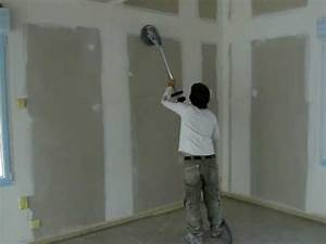 poncage par mecanisation wwwrubens peinture processcom With peinture sous couche placo
