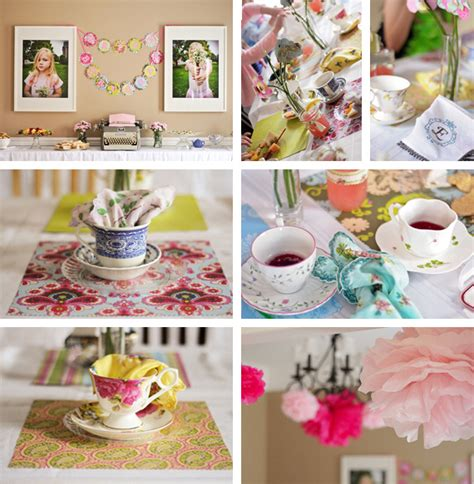 in tea decorations tea decorations favors ideas