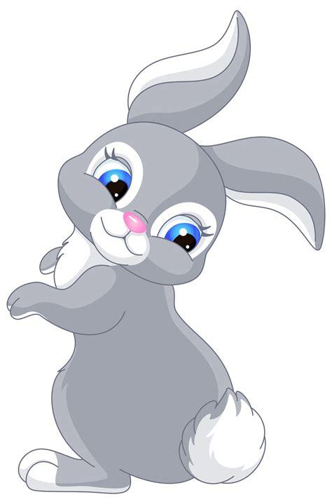 cartoon transparent cute bunny cartoon png clip art image bunny pinterest