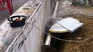 Scie A Beton : scier du beton c 39 est facile youtube ~ Melissatoandfro.com Idées de Décoration