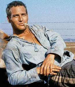 Paul Newman in Cool Hand Luke (1968).